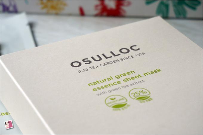 Osulloc Natural Green Essence Sheet Mask