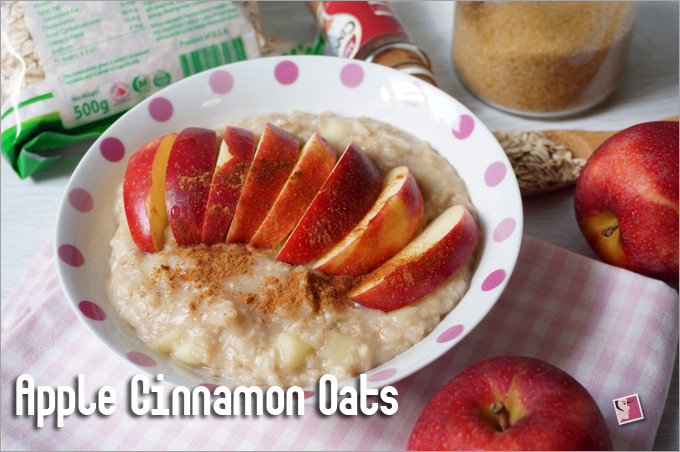 Apple Cinnamon Oats