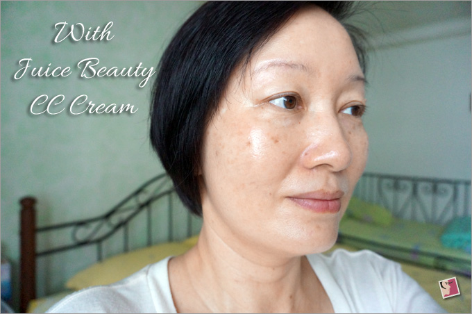 Juice Beauty Stem Cellular CC Cream FOTD After