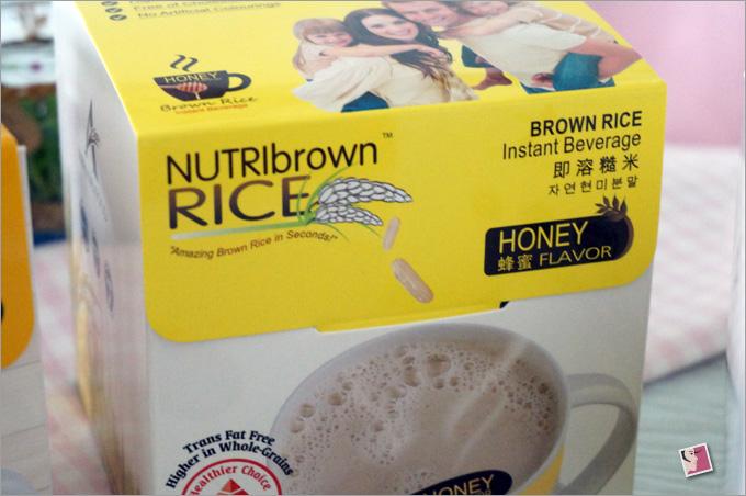 NutriBrownRice Honey Flavor