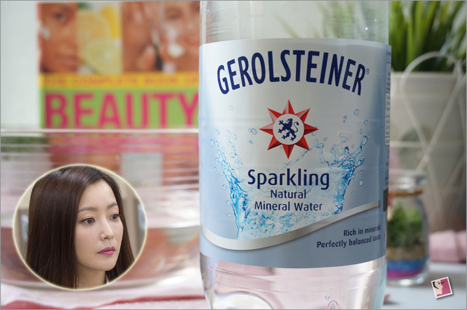 Sparkling Skin And Smaller Pores With Carbonated Mineral Water
