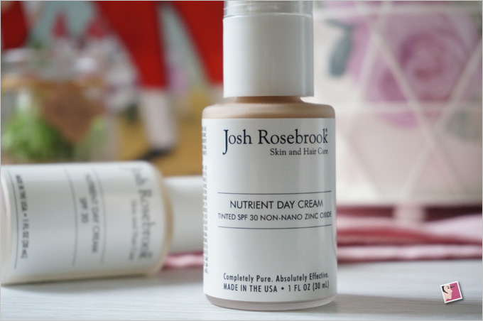 Josh Rosebrook Nutrient Day Cream Tinted SPF30