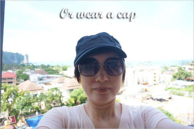 wear a cap