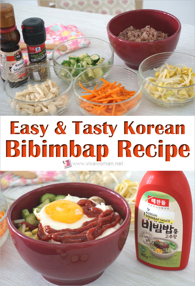Easy And Tasty Korean Bibimbap Recipe