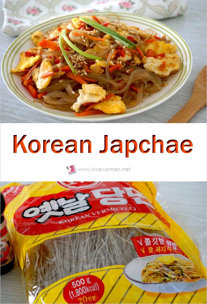 How To Make Gluten-Free Korean Japchae