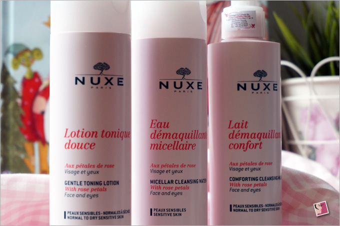 Nuxe Range With Rose Petals