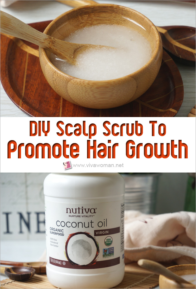 DIY Scalp Scrub To Promote Hair Growth