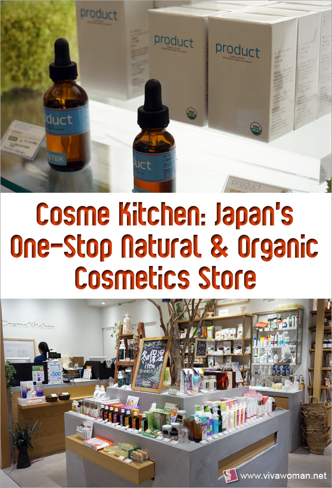 Japan's Cosme Kitchen One-Stop Natural & Organic Cosmetics Store
