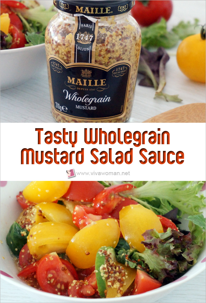 How To Make Tasty Wholegrain Mustard Salad Sauce