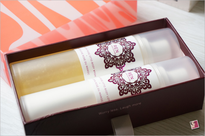 REN Moroccan Rose Duo Gift Set Kit