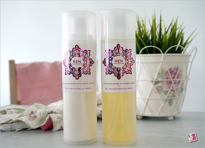 REN Moroccan Rose Duo Gift Set