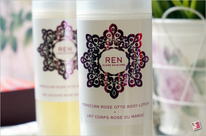 REN Moroccan Rose Otto Body Lotion