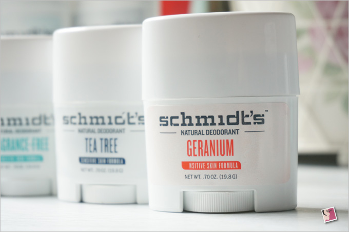 Schmidt's Natural Deodorant Geranium Sensitive Skin Formula Travel Size
