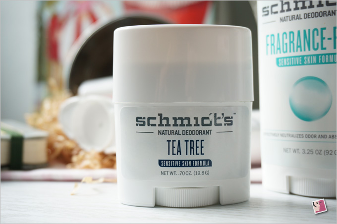 Schmidt's Natural Deodorant Tea Tree Sensitive Skin Formula
