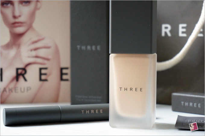 THREE Flawless Ethereal Fluid Foundation From Japan
