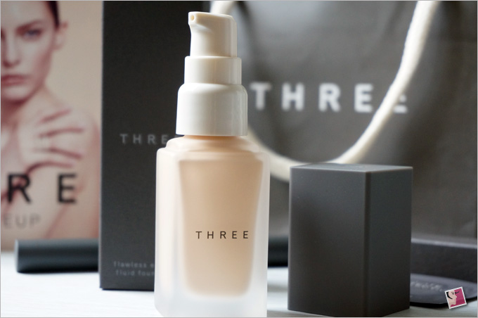 THREE Flawless Ethereal Fluid Foundation Japan