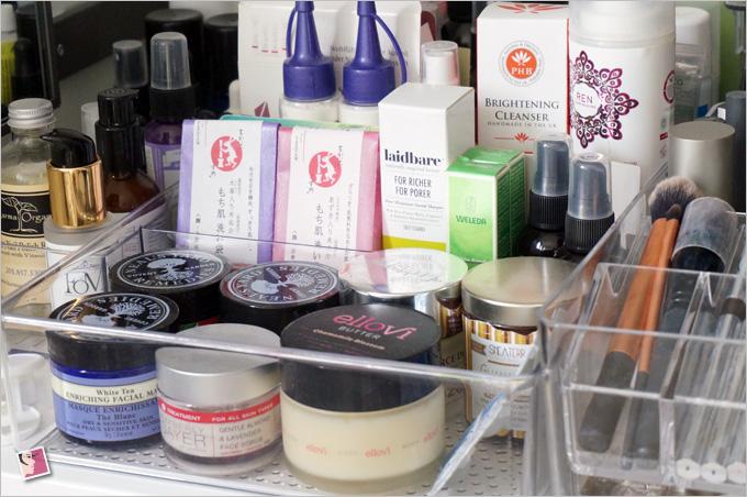 Cosmetics Clear Trays