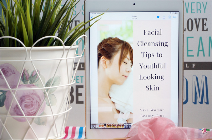 Facial Cleansing Tips Ebook